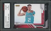 Lamelo Ball 2020-21 Panini Instant 222 Roty 1st Graded 10 Rookie Card Hornets