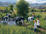 Robert Duncan Farms Are For Kids Giclee On Canvas