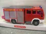 Wiking 61102 Ho Iveco Lf 16/12 Fire Brigade Truck