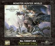 1000 Piece Jigsaw Puzzle Monster Hunter World Discontinued Products