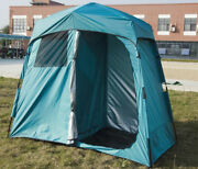 Us Ship Folding Double Shower Tent Privacy Dress Tent Portable Changing Tent