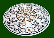 42 Inch Marble Kitchen Table Antique Design Dining Table Top From Cottage Art