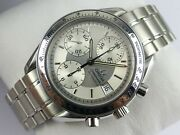 Omega Speedmaster Date Chronograph - Silver Dial - 2003 - Card