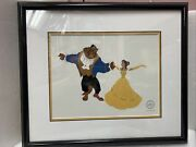 Disney Limited Edition Beauty And The Beast Belle Of The Ball Sericel W/ Coa