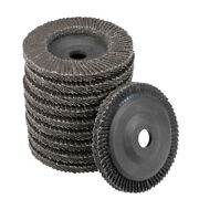 4 Inch Flap Wheels 72 Page Grinding For Angle Grinders 60 Grits 10 Pcs