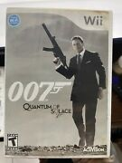 James Bond 007 Quantum Of Solace Nintendo Wii, 2008[tested]