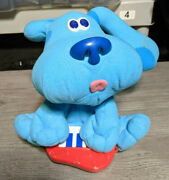 Fisher Price Blues Clues Freeze Dance Plush Musical Toy Puppy Dog 2000 Works