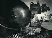 1985 Press Photo Lance Schmidt Barbecued His Way To A Third-place Finish