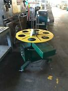 36 Spring Tools Model 350d Horizontal Uncoiler Pallet And Wire Coil Reel Stock