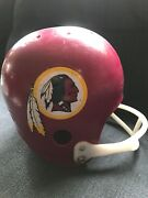 Vintage Washington Redskins Full Size Youth Helmet By Hutch Pre-owned