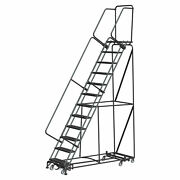 Ballymore Rolling Ladder Overall Height 153 In Steps 12 Cap 450 Lb