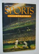 1954 Sports Illustrated First Issue 1st Baseball Card Insert Has Original Mailer