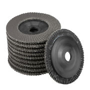 4-inch Flap Wheels 72 Page Grinding For Angle Grinders 320 Grits 10 Pcs