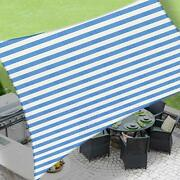 Love Story 6and0395and039and039 X 9and03910and039and039 Rectangle Blue And White Sun Shade Sail Canopy Uv Blo...