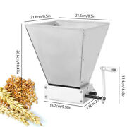 Manual Grain Mill Crusher Corn Wheat Cereal Grinder Hand Mill Grinding Machine