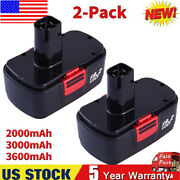 2pack Battery For Craftsman C3 19.2volt 11375 130279005 11376 Cordless Drill Us