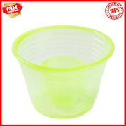 1000 Disposable Plastic Blaster Round Bomb Shot Cups Power Bombs Yellow Glasses