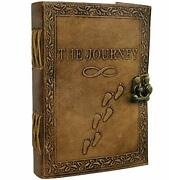 Journal Writing Notebook Handmade Leather Bound Daily Notepad Men And Women New