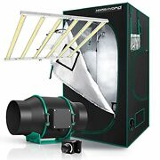 Mars Hydro Grow Tent Kit Complete 4x4ft Fc4800 Led Grow Light Dimmable Full Spec