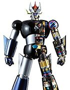 Secondhand Dx Chogokin Soul Great Mazinger Approx. 325mm Abs Pvc Die-cast