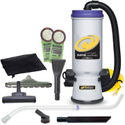 Proteam Commercial Backpack Vacuum Cleaner, Super Coachvac Vacuum Backpack With