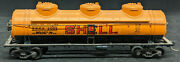 Athearn Shell Sccx 2005 Tank Car, 3-dome, Ho Scale Vintage, Yellow.
