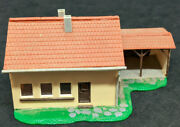 Faller N Scale House With Stable, Building West German Vintage. 2343 B22