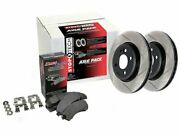 For 2012 2015-2019 Volkswagen Beetle Brake Pad And Rotor Kit Centric 58998wx