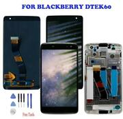 Oem For Blackberry Dtek60 Lcd Display Touch Screen Digitizer Replacement Frame