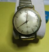 Classic 1960and039s Helbros Invincible Made In France 7 Jewels Mechanical Mens Watch