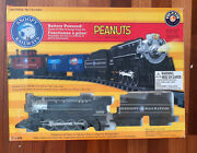 Lionel Snoopy Railway G Guage Peanuts Train Set Battery Powered Open Box 7-11489