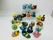Vintage 1960s Mice Cat In Boot Ornaments Kitsch Mid Century Collection Retro