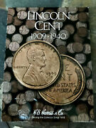 1909-1940 Lincoln Cent Set 89 Coins Near Complete With 1914d 1909s 1922d 1931s