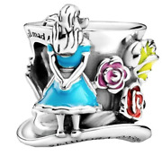 Pandora Disney Alice In Wonderland And The Mad Hatterand039s Tea Party Charm
