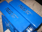 5 Pcgs Blue Boxes Clean, Each Box Holds 20 Slabed Coins No Tape Or Writing