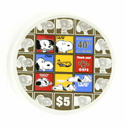 Secondhand Commemorative Coins Snoopy Commemorating The 40th Anniversary Of Your