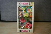 Ideal Flatsy Doll 2 Pack Munch Time And Playtime Playset New In Box 1973 Rare Nib