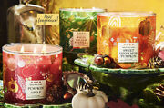 🍁‼️new Stock‼️🎃bath And Body Works 3 Wick Candle Autumn Fall 2021 Collections