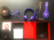 Beats By Dr. Dre Solo 3 Hd Wired Headphones Purple Travel Case, Original Box