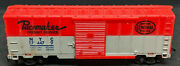 Marx Ho Nyc Pacemaker 174479 Red / Silver Boxcar 2-tone Vintage. New York