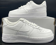 Nike Air Force 1 And03907 Retro Sneakers Triple White Dd8959-100 Womens Size
