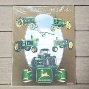 John Deere Sign Celebrating 160 Years New Old Stock Discontinued