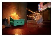 Dumpster Fire Le 160 Pieces Photo Print Autographed By Brian Mccarty In Hand
