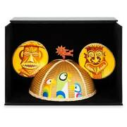 Disney Enchanted Tiki Room Mickey Mouse Shag Ears Hat Embroidery Limited Release