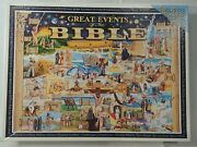 White Mountain Great Events Of The Bible 1000 Piece Jigsaw Puzzle