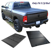 Truck Bed 5.5ft Hard Folding Tonneau Cover For 2015-2021 Ford F-150 Bed Covers