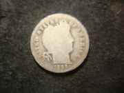 1896-o G Full Dated Barber Liberty Dime Original Coin Lax