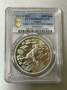 2020 Tokyo Olympic Games Commemorative Silver Coin 2019 Pcgs Pr69dcam