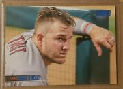 2021 Topps Stadium Club - Mike Trout 200 Blue Foil Sp /50 - Los Angeles Angels
