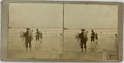 Andagrave La Mer Vintage Stereo Card Tirage Citrate 85x17 1909 Div Style=